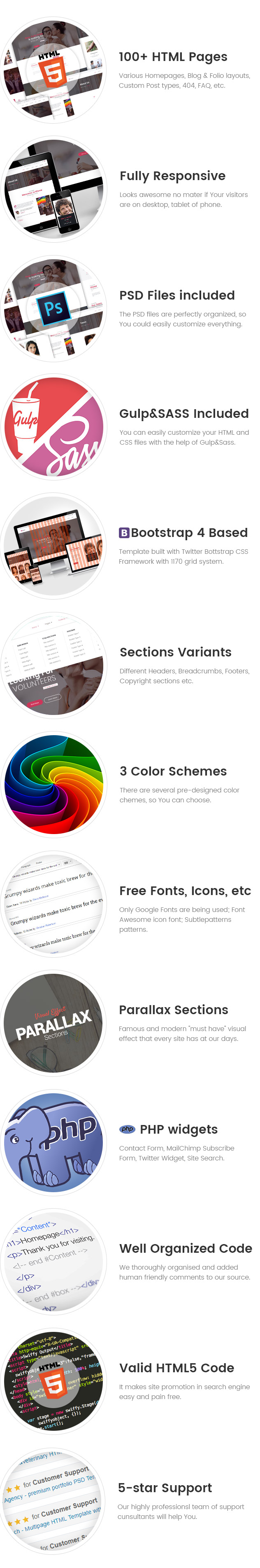 Olwea - LGBT Center HTML Template
