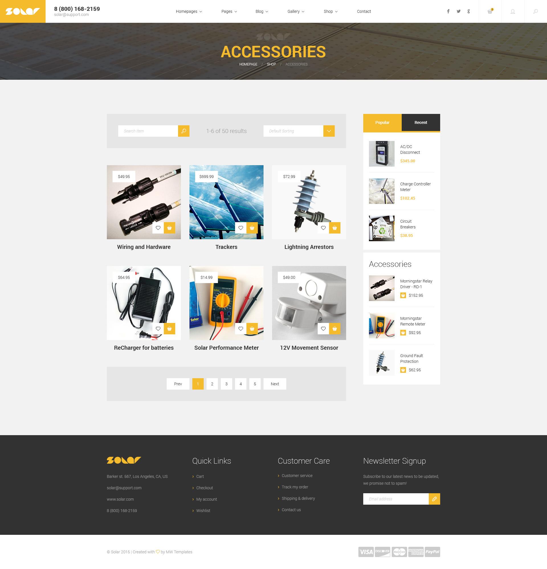 solar renewable energy sinlge multipage html template modern web templates. Black Bedroom Furniture Sets. Home Design Ideas