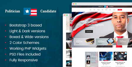 Political Bootstrap Themes