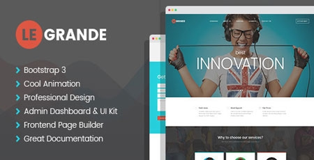 Legrande responsive html template for business modern web templates cheaphphosting Images