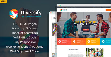 LGBT WordPress Theme